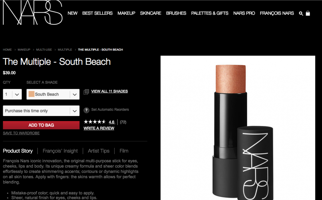 Nars - South Beach