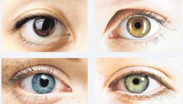 eye colours