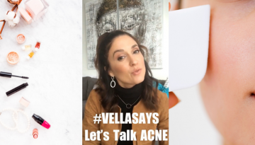 #VellaSays - Acne